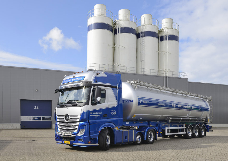 van bentum warehousing bulktransport silo